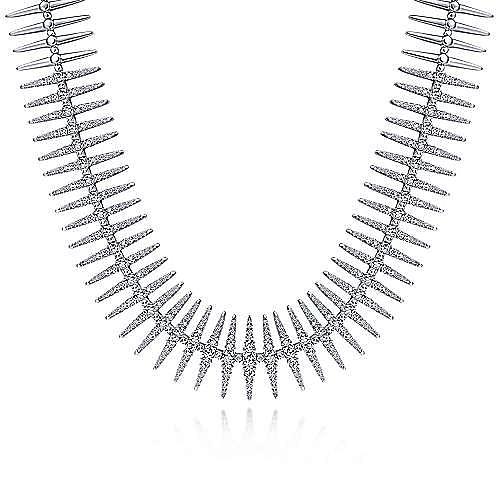 Gabriel - 18k White Gold Necklace