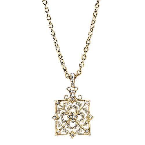 Gabriel - 18k Yellow Gold Mediterranean Fashion Necklace