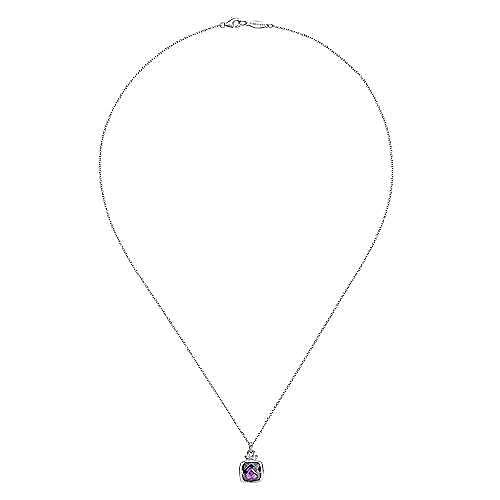 925 Silver Amethyst Necklace