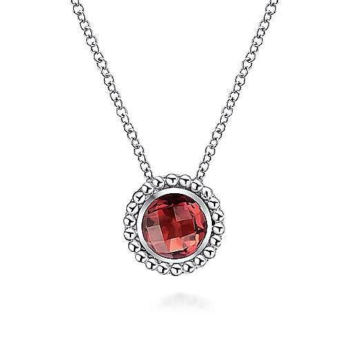 925 Silver Bujukan Fashion Necklace angle 1
