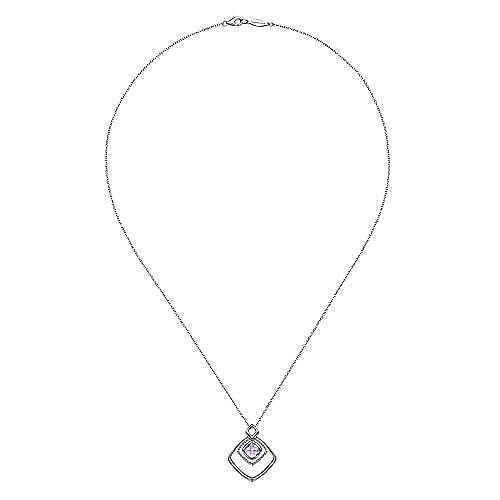 925 Silver Bujukan Fashion Necklace angle 2