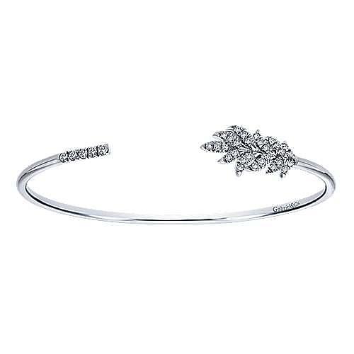 925 Silver Byblos Bangle angle 1