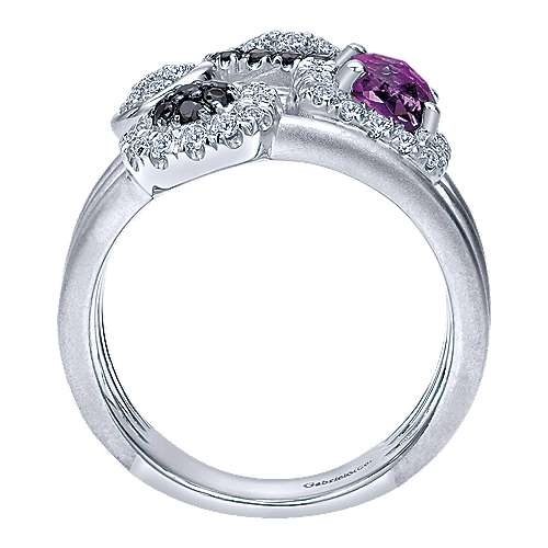 925 Silver Constellations Fashion Ladies' Ring angle 2