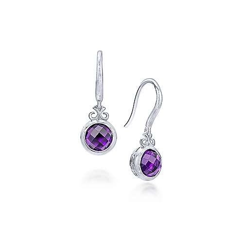 925 Silver Contemporary Drop Earrings