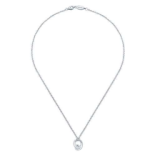 925 Silver Diamond Necklace