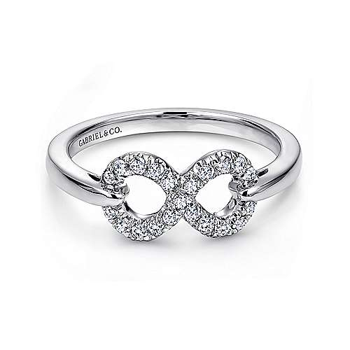 925 Silver Eternal Love Fashion Ladies' Ring angle 1