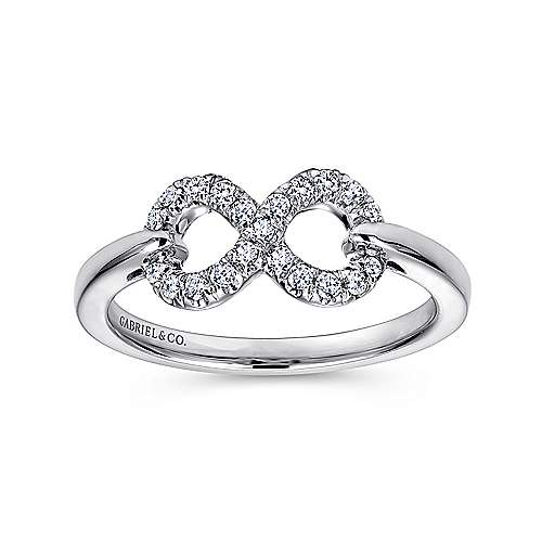 925 Silver Eternal Love Fashion Ladies' Ring angle 4