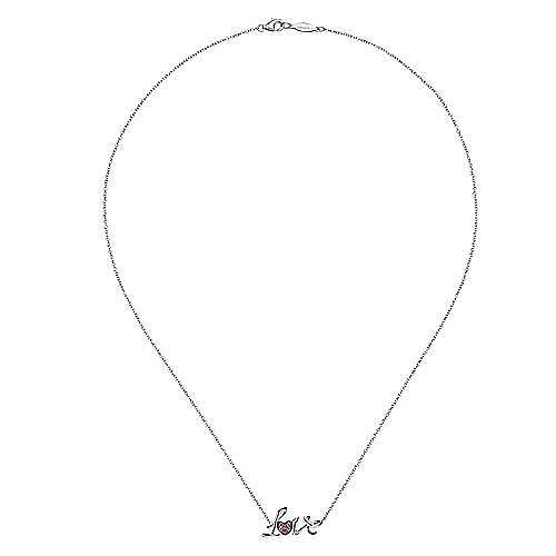925 Silver Eternal Love Fashion Necklace
