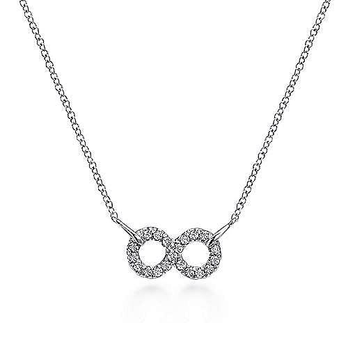 Gabriel - 925 Silver Eternal Love Fashion Necklace