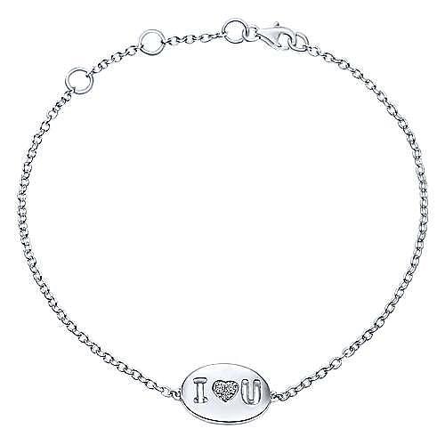 925 Silver Eternal Love Heart Bracelet