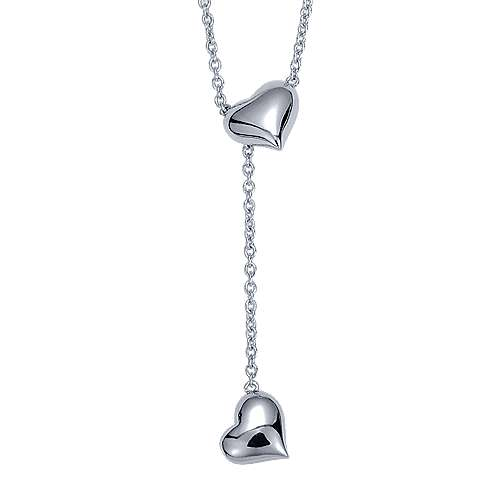 925 Silver Eternal Love Lariat Necklace