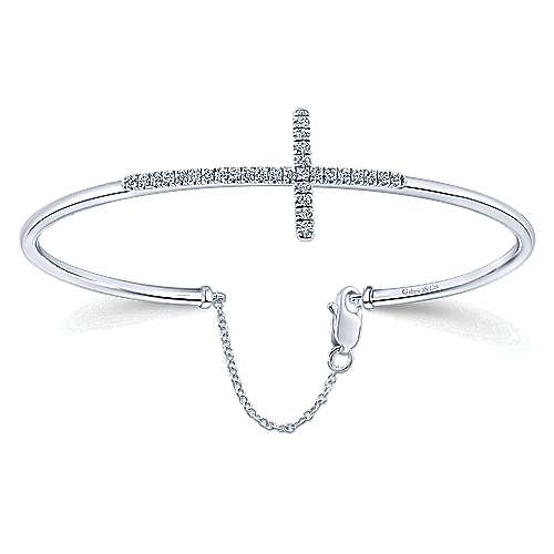 925 Silver Faith Bangle
