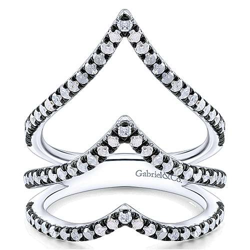 Gabriel - 925 Silver Front Row Fashion Ladies' Ring