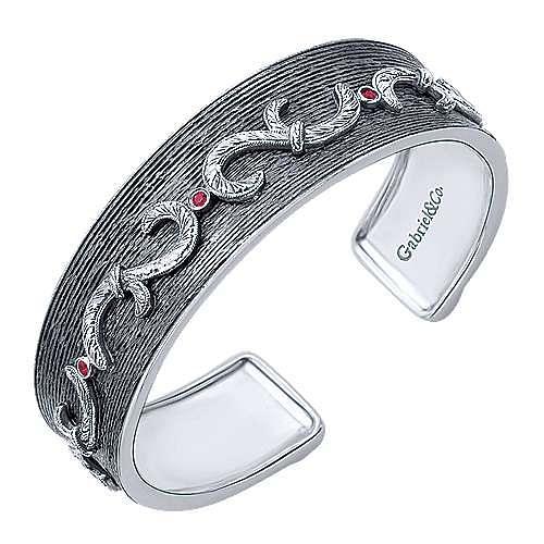 925 Silver Goddess Bangle angle 2