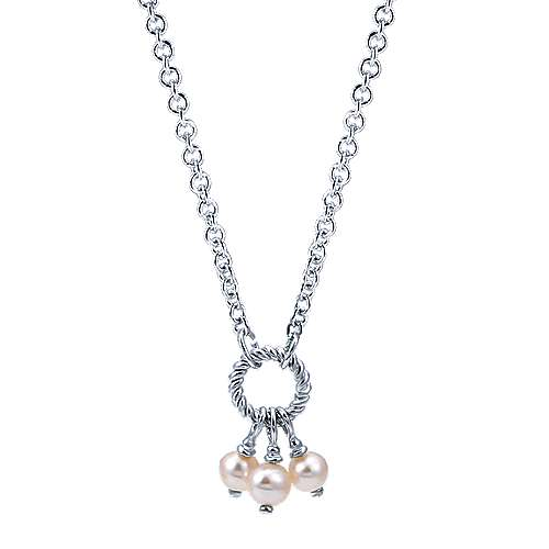 Gabriel - 925 Silver Grace Fashion Necklace