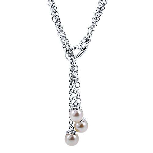 925 Silver Grace Lariat Necklace