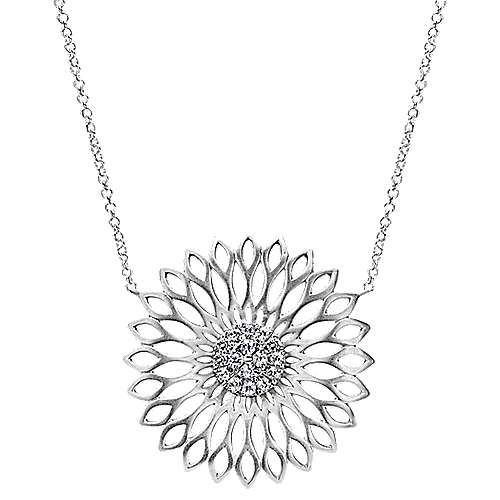925 Silver Madison Fashion Necklace angle 1
