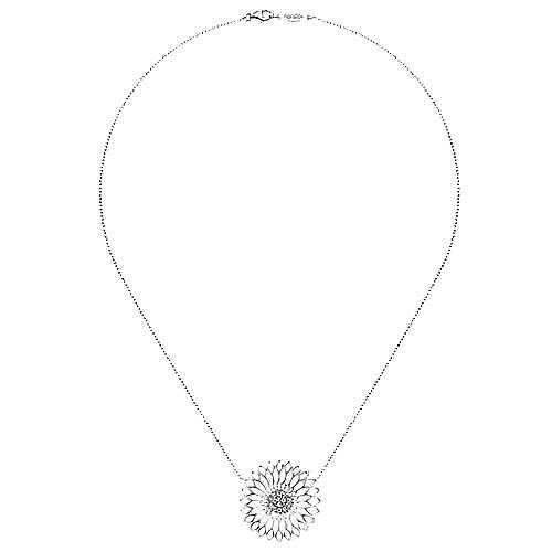 925 Silver Madison Fashion Necklace angle 2