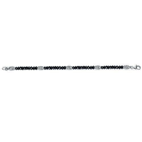 925 Silver Mediterranean Beads Bracelet angle 3