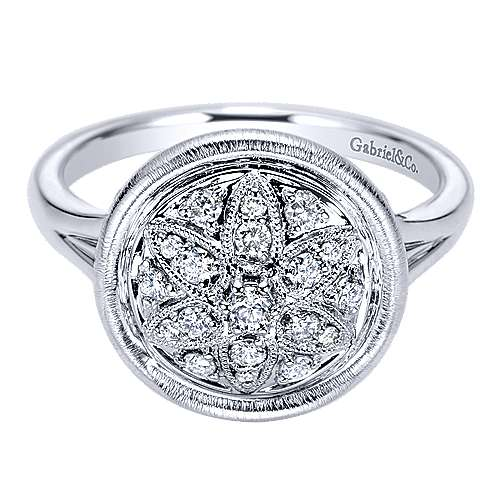 Gabriel - 925 Silver Mediterranean Fashion Ladies' Ring