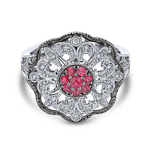 Gabriel - 925 Silver Mediterranean Fashion Ladies' Ring