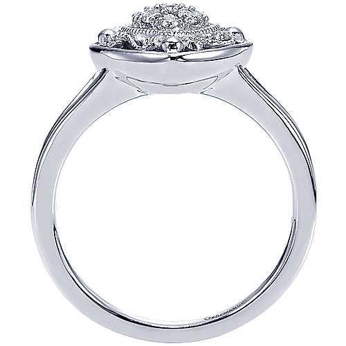 925 Silver Mediterranean Fashion Ladies' Ring angle 2