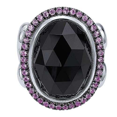 925 Silver Mediterranean Statement Ladies' Ring angle 1