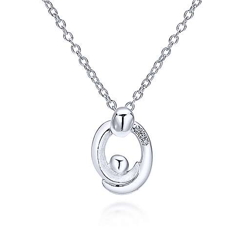 925 Silver Mommy And Me Necklace