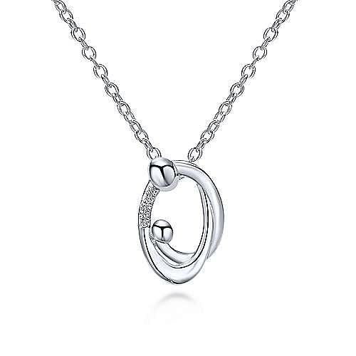 Gabriel - 925 Silver Nursery Rhymes Fashion Necklace