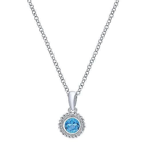 925 Silver Secret Garden Fashion Necklace angle 1