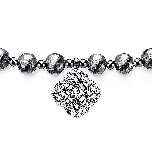 925 Silver Souviens Beads Bracelet angle 2