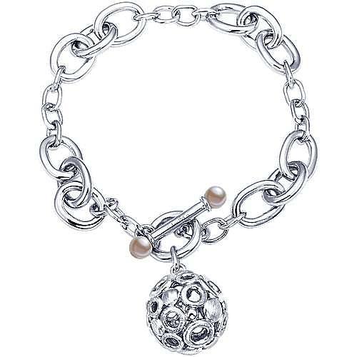 925 Silver Souviens Chain Bracelet angle 1