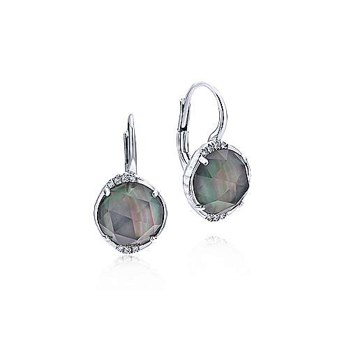 925 Silver Souviens Drop Earrings angle 1