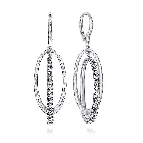 Gabriel - 925 Silver Souviens Drop Earrings