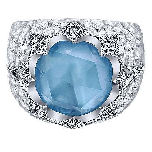 Gabriel - 925 Silver Souviens Fashion Ladies Ring