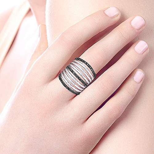 925 Silver Souviens Fashion Ladies' Ring angle 5