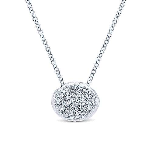 Gabriel - 925 Silver Souviens Fashion Necklace