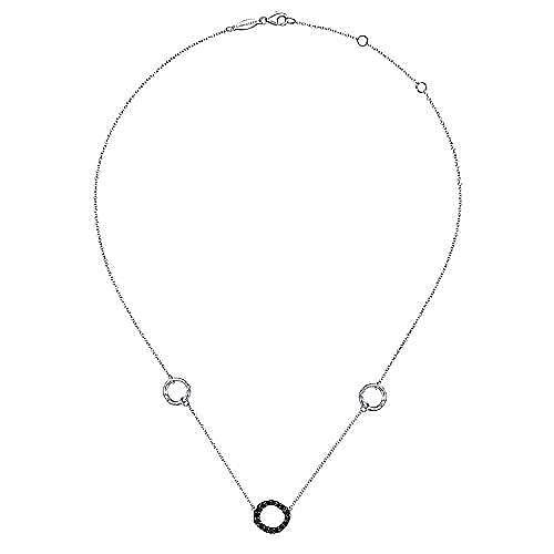 925 Silver Souviens Fashion Necklace angle 2