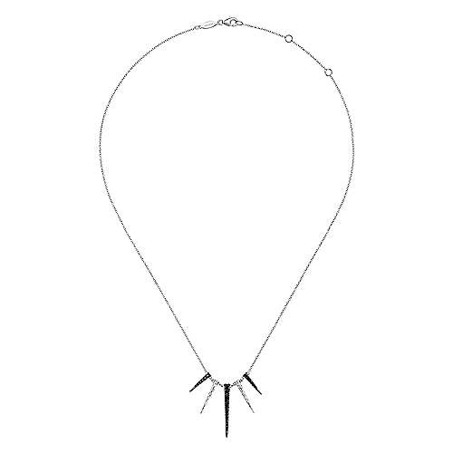 925 Silver Souviens Fashion Necklace angle 2