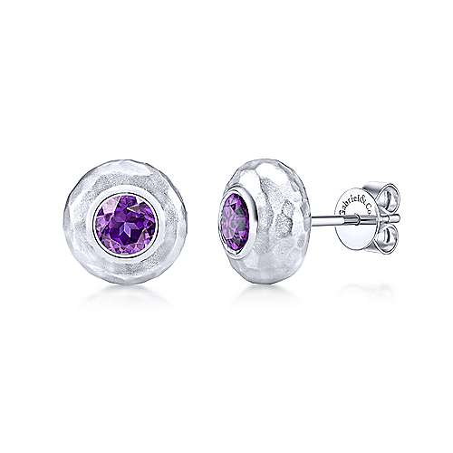 925 Silver Souviens Stud Earrings