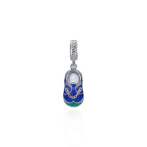 925 Silver Treasure Chests Charm Pendant angle 1