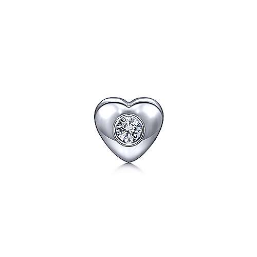 925 Silver Treasure Chests Locket Charm Pendant angle 1