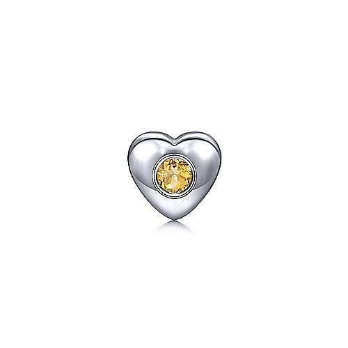 925 Silver Treasure Chests Locket Charm Pendant angle 1
