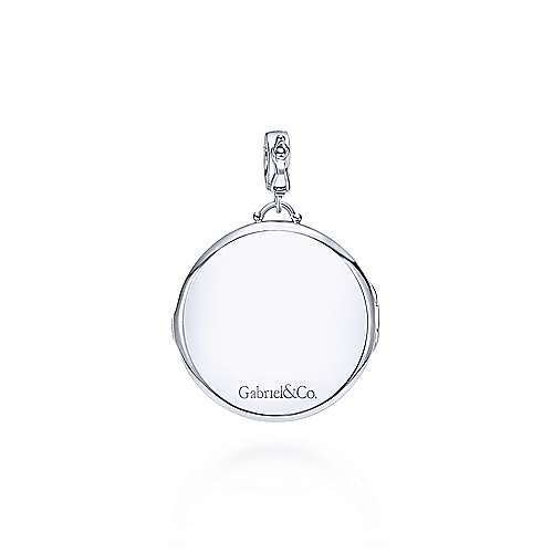 925 Silver Treasure Chests Locket Pendant angle 2