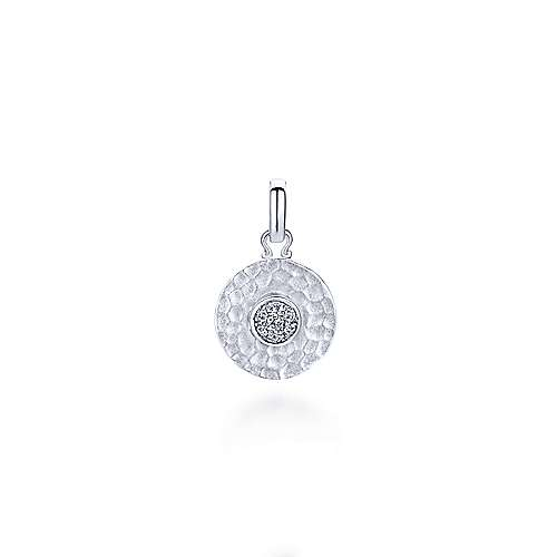 925 Silver Trends Charm Pendant angle 1