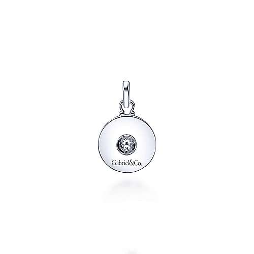 925 Silver Trends Charm Pendant angle 2