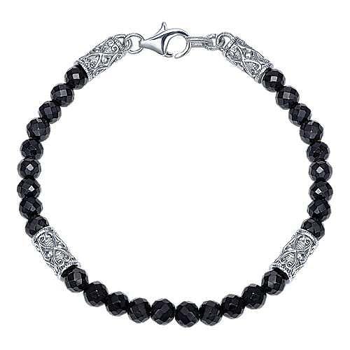 925 Silver Victorian Beads Bracelet