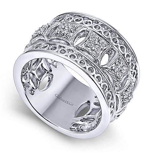 925 Silver Victorian Fashion Ladies Ring