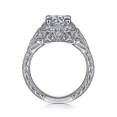Vintage engagement ring  Vintage Engagement Rings - Gabriel & Co.