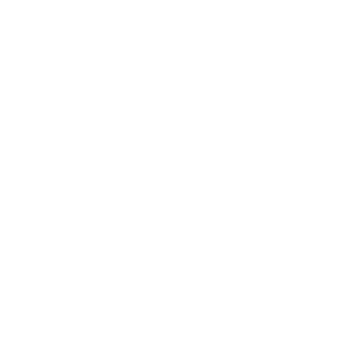 Gabriel - Claudette 14k White Gold Round 3 Stones Engagement Ring